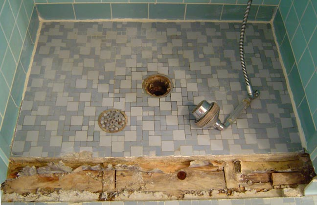 New Shower Floor