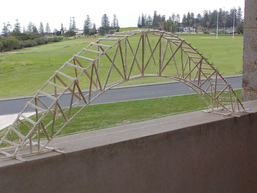 The Toothpick Bridge