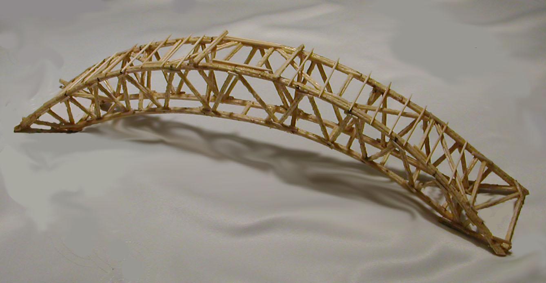 Strongest toothpick bridge designs the best bridge 2017 for Bridge design